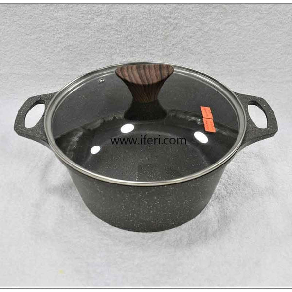 24cm Non Stick Cookware with Lid UT8024
