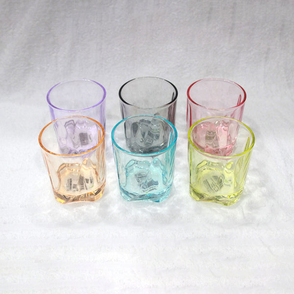 6 Pcs Colourful Glass Set SMN2142