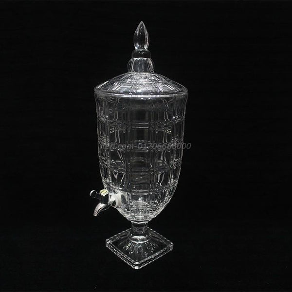 Heavy Crystal Glass Large Size Juice Jar With Dispenser RY6594 - Juice Jar