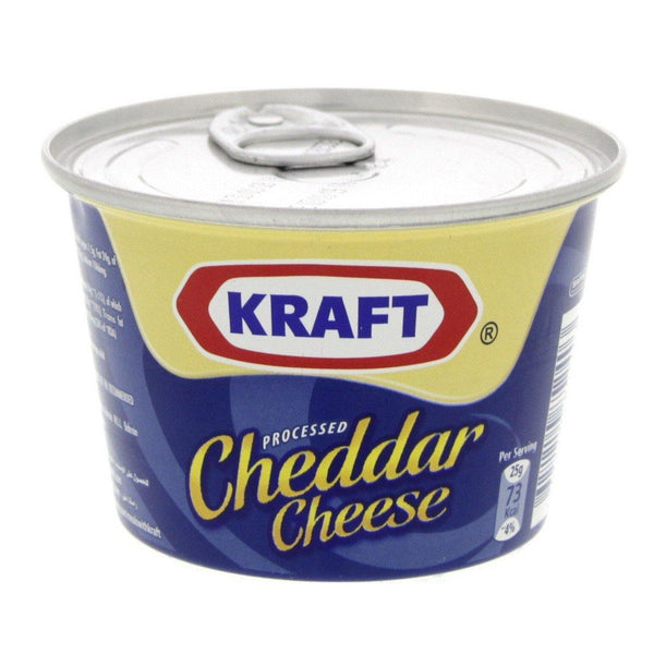 190g Kraft Processed Cheddar Cheese BC0843