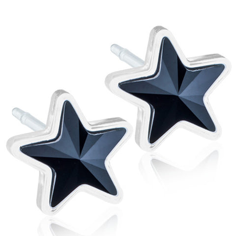 Star Crystals 6mm - 0% Nickel Free Medical Plastic
