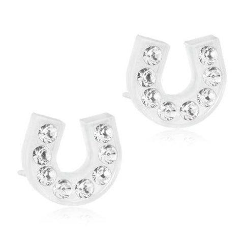 Brilliance 7mm & 9mm Earrings- 100% Nickel Free Medical Plastic