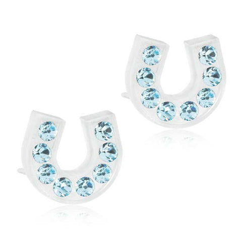 Brilliance 7mm & 9mm Earrings- 100% Nickel Free Medical Plactic
