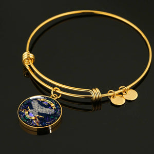 I BELIEVE I COULD SO I DID | WISDOM OWL | ADJUSTABLE LUXURY BANGLE