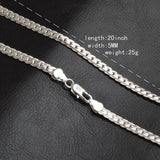 925 Sterling Silver Necklace | 5mm