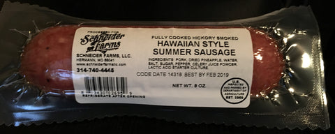 Hawaiian Summer Sausage