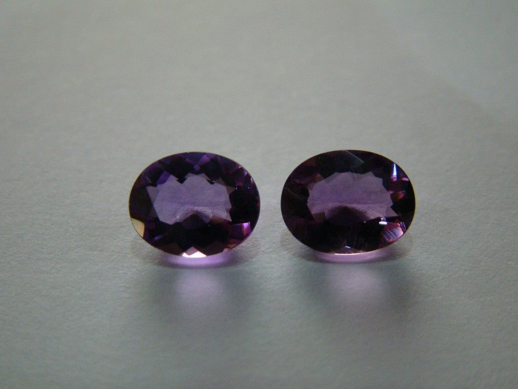3.18ct Amethyst (Pair)