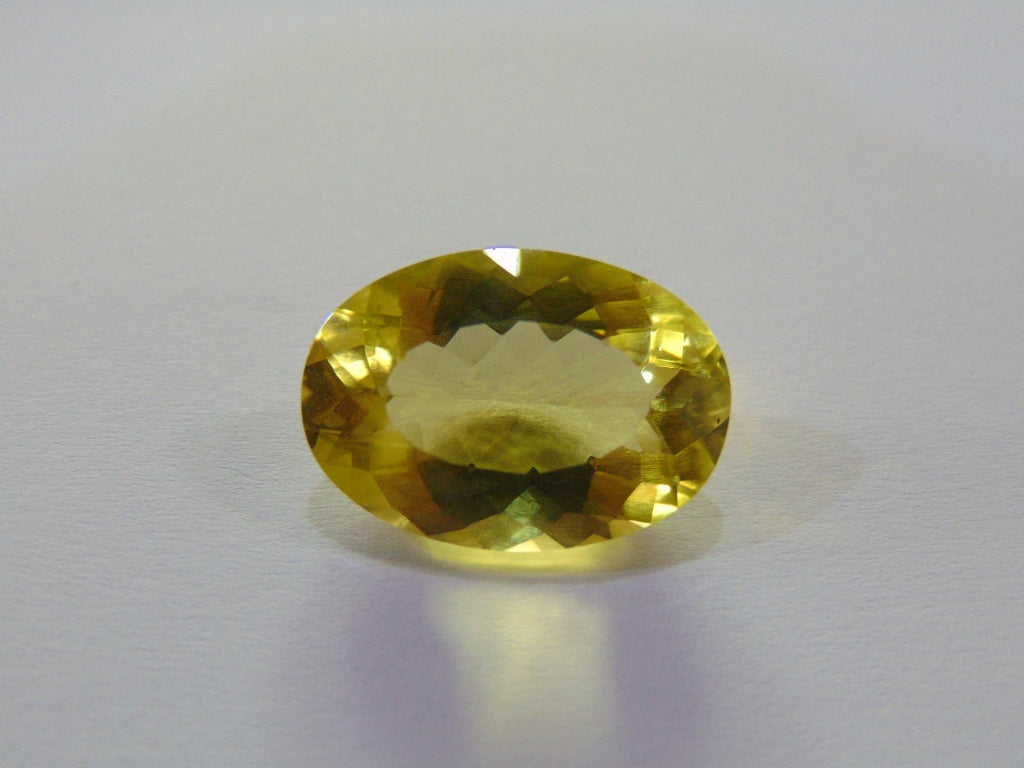 14.80ct Quartz (Green Gold)