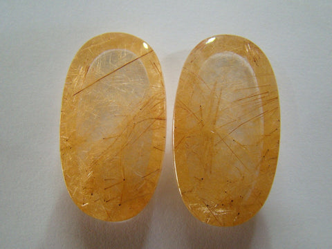 107.50ct Rutile (Golden) Pair