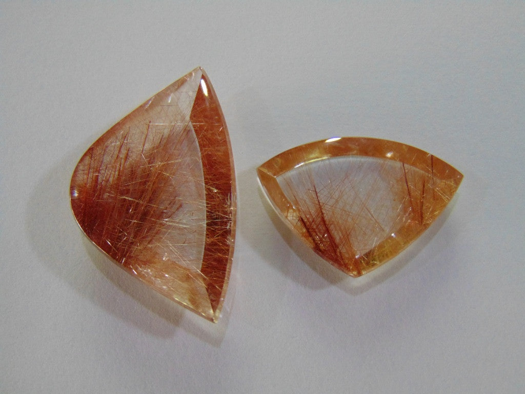 59.50ct Rutile (Red)
