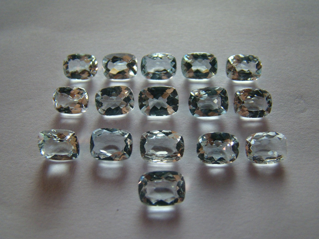 17ct Aquamarine (Lot) Calibrated