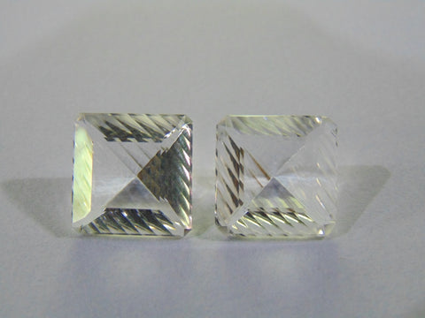 20.20ct Quartz (Crystal) Pair