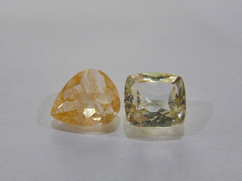 10.80ct Quartz With Rutile