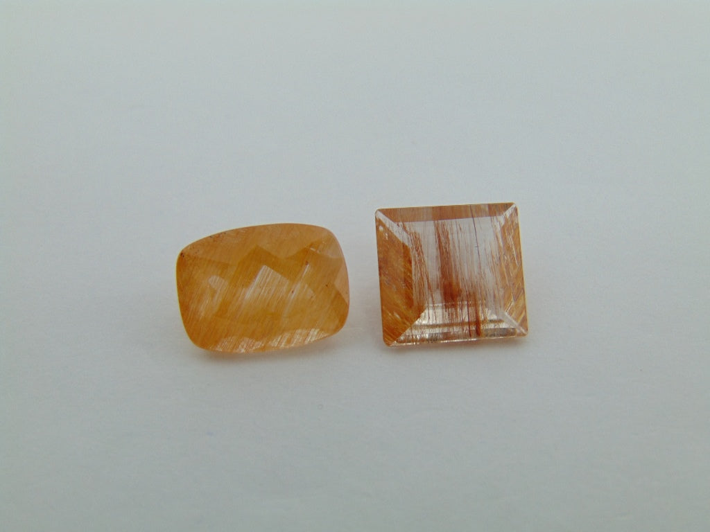 12.20cts Topaz With Rutile