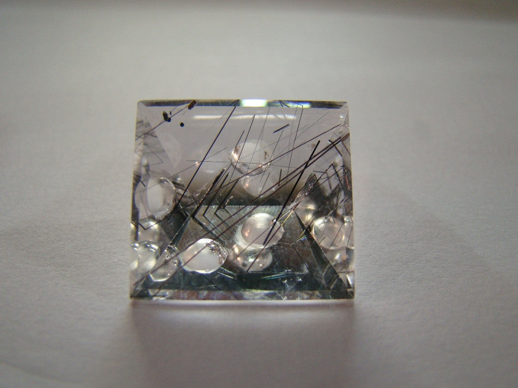 25ct Quartz (Graphite) Bubble Gems