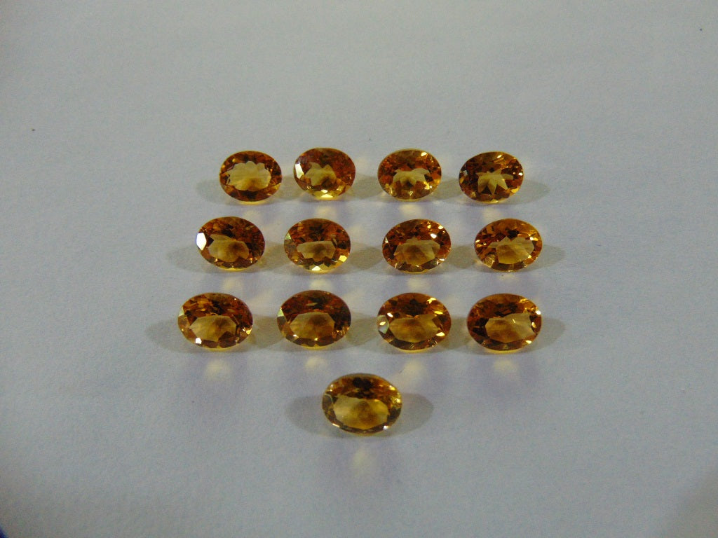 30.50ct Citrine (Lot) calibrated
