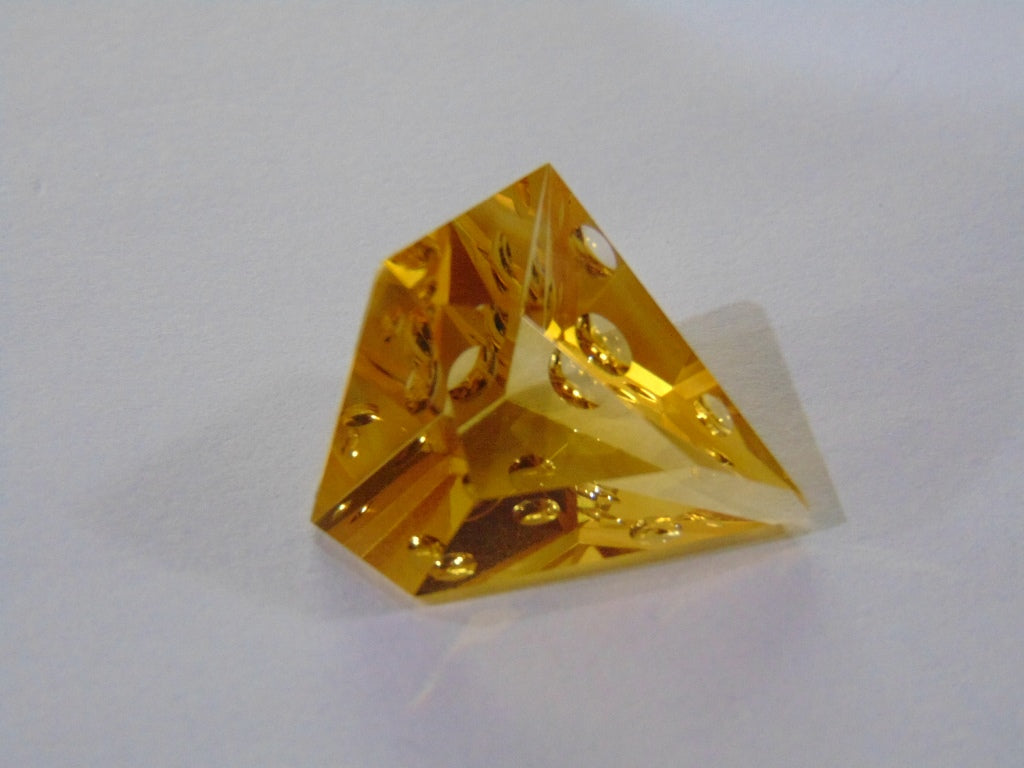 23.50ct Citrine (Bubble Gems)
