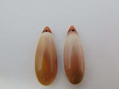 46.30cts Agate (Pair)