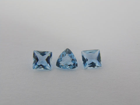 1.70cts Aquamarine (Set)