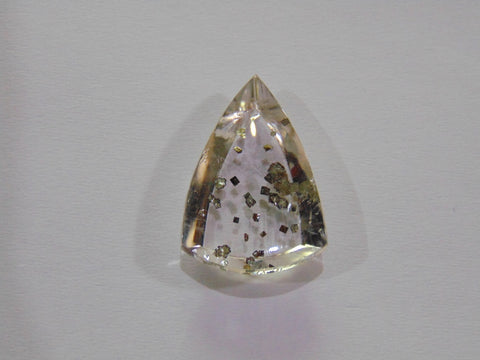 16.50ct Quartz (Pyrite)