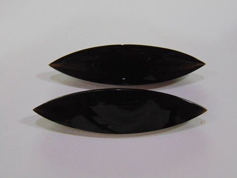 107.50ct Quartz Black (Pair)