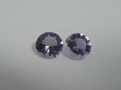 10.30cts Amethyst (Pair)