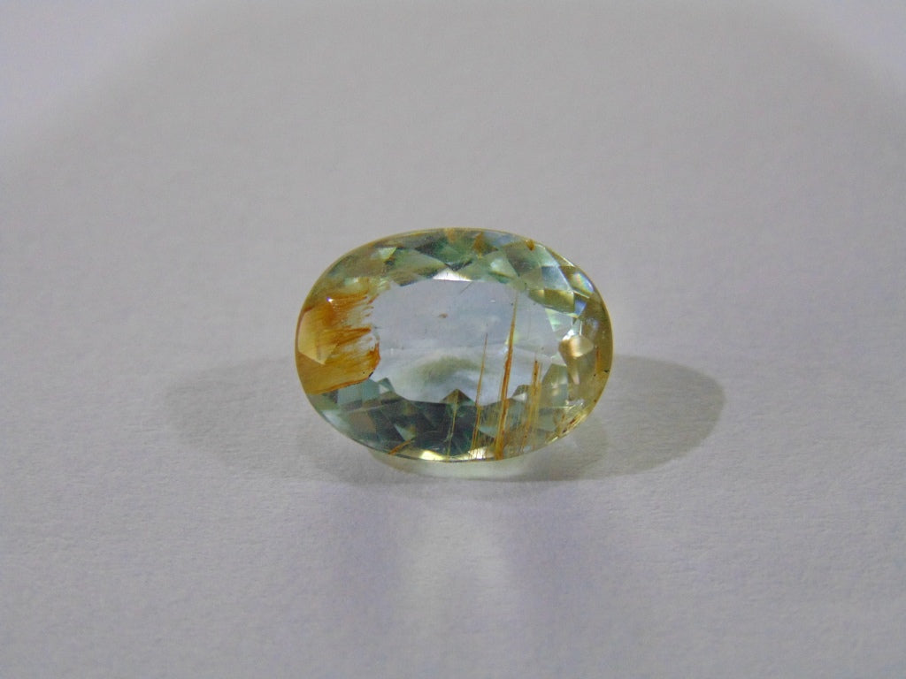 9.70ct Topaz (Natural - With Needle)