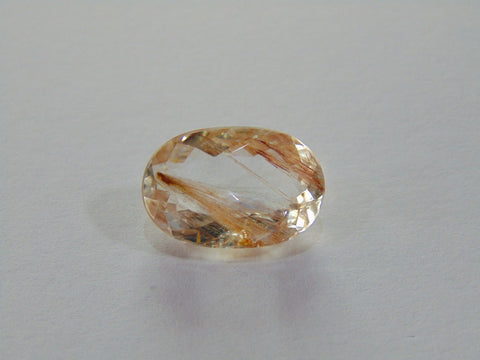 10.70ct Topaz With Rutile