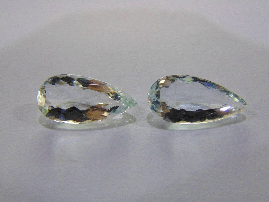 9.30ct Aquamarine (Pair)