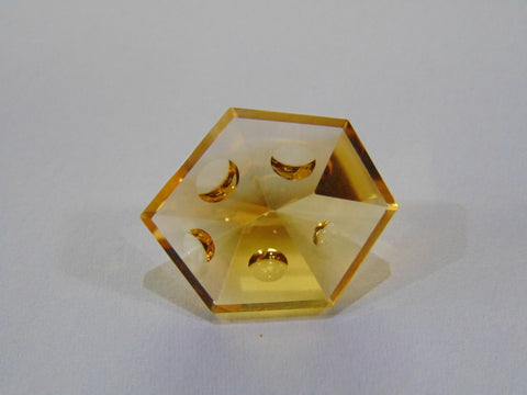 15.50ct Citrine (With Bubbles)