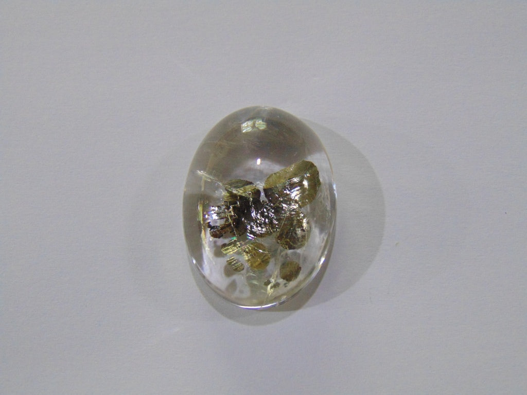 57.50ct Quartz (Pyrite)