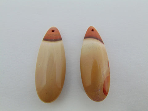 43.30cts Agate (Pair)