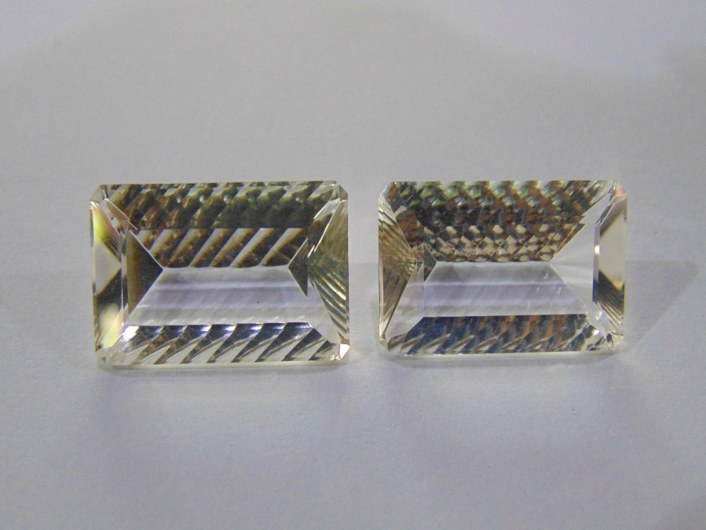 51.20ct Quartz (Crystal) Pair