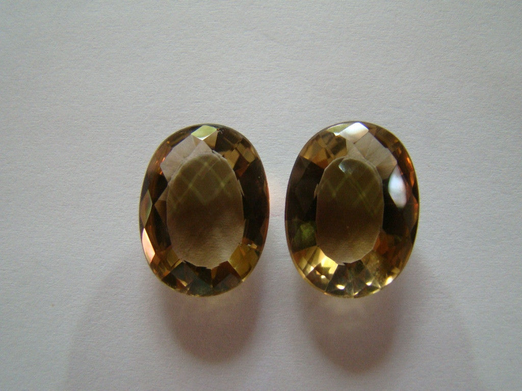 28.50ct Citrine (Pair)