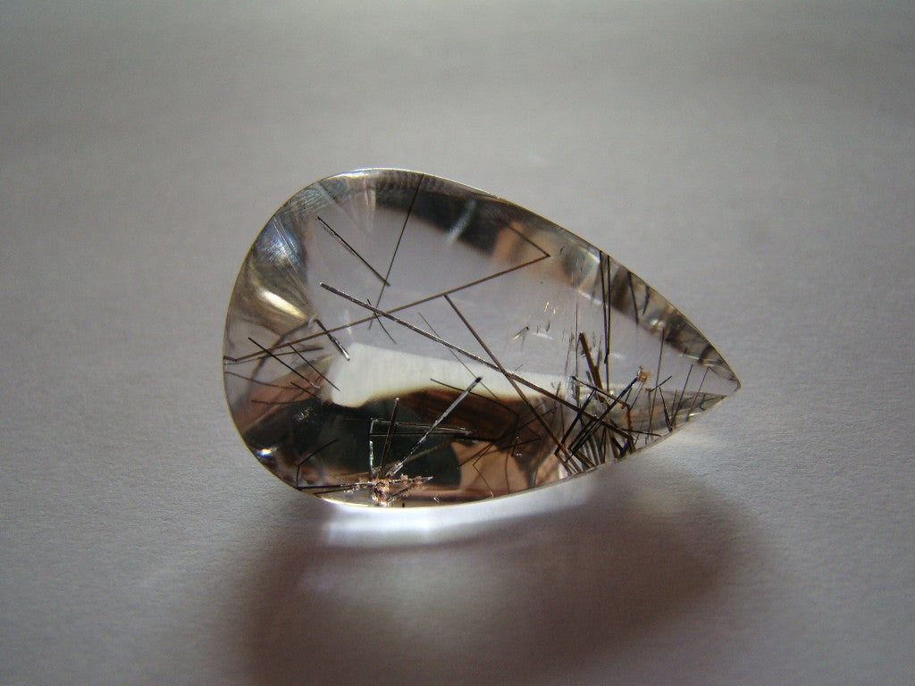33.90ct Quartz (Graphite)