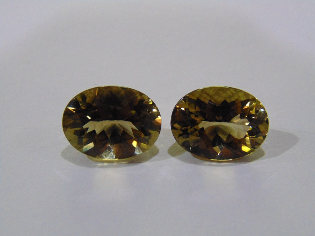 16ct Citrine (Pair)