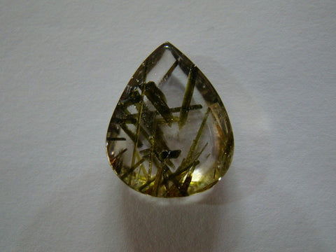 22.40ct Quartz (Epidote)