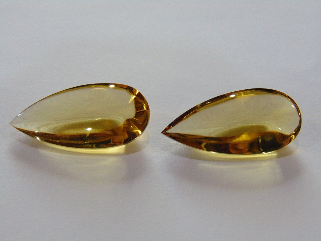 33ct Citrine (Pair)