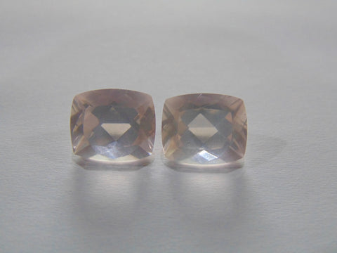 11.50ct Quartz Rose (Pair)