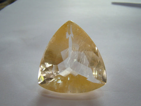 157ct Topaz With Golden Rutile