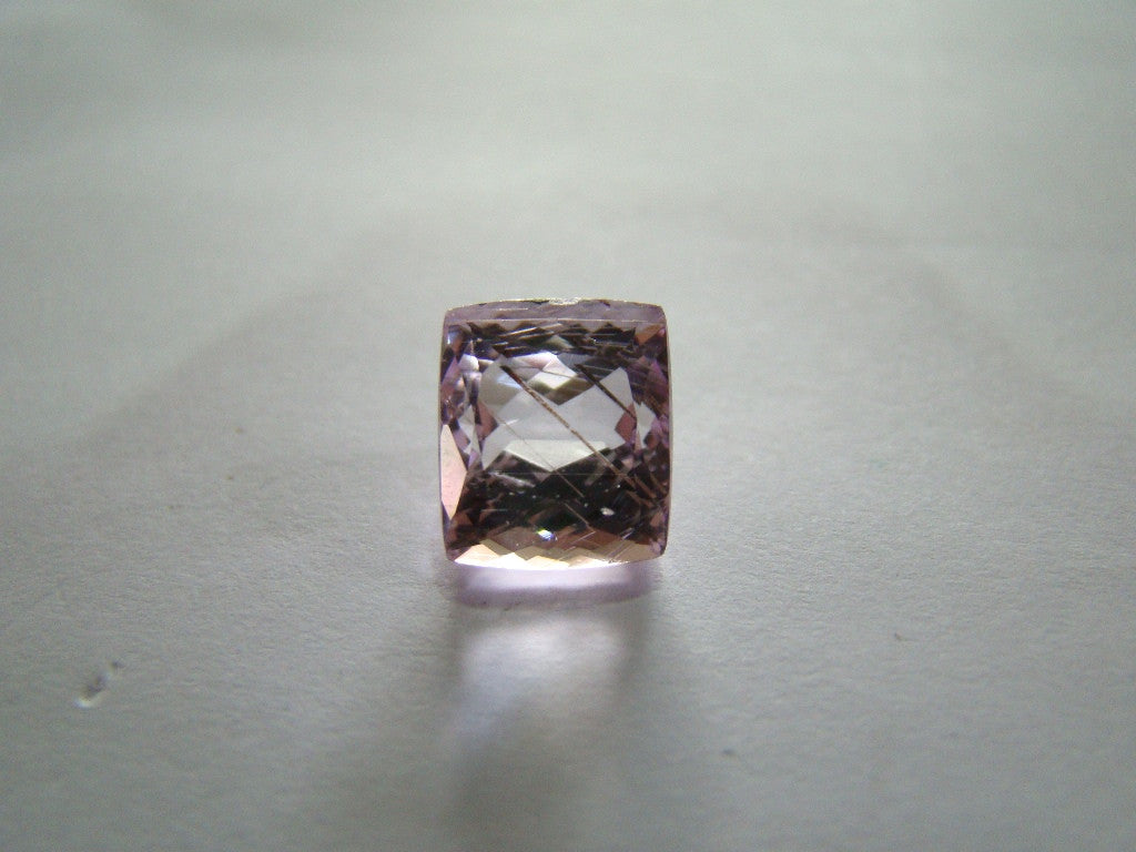 6.40ct Kunzite With Golden Rutile
