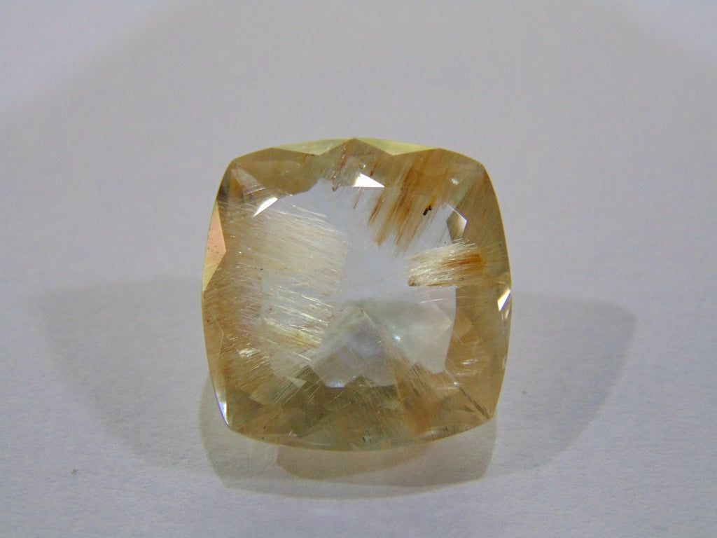 21.50ct Topaz With Rutile