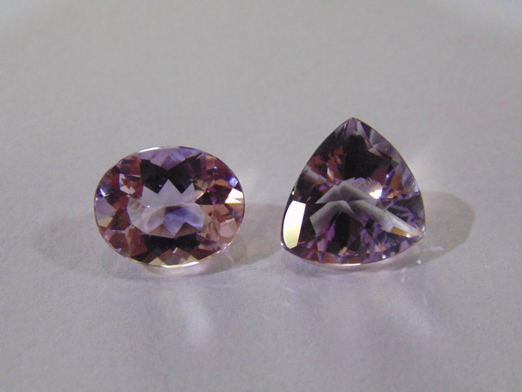 13.90ct Amethyst (Rose France)