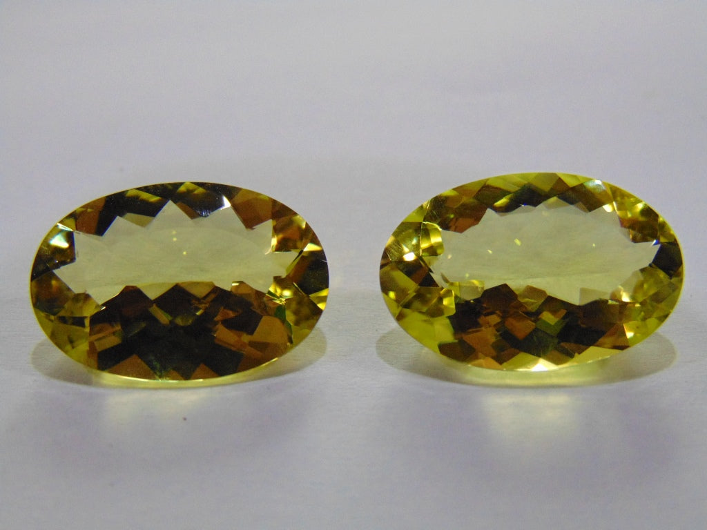 28.20ct Quartz Green Gold