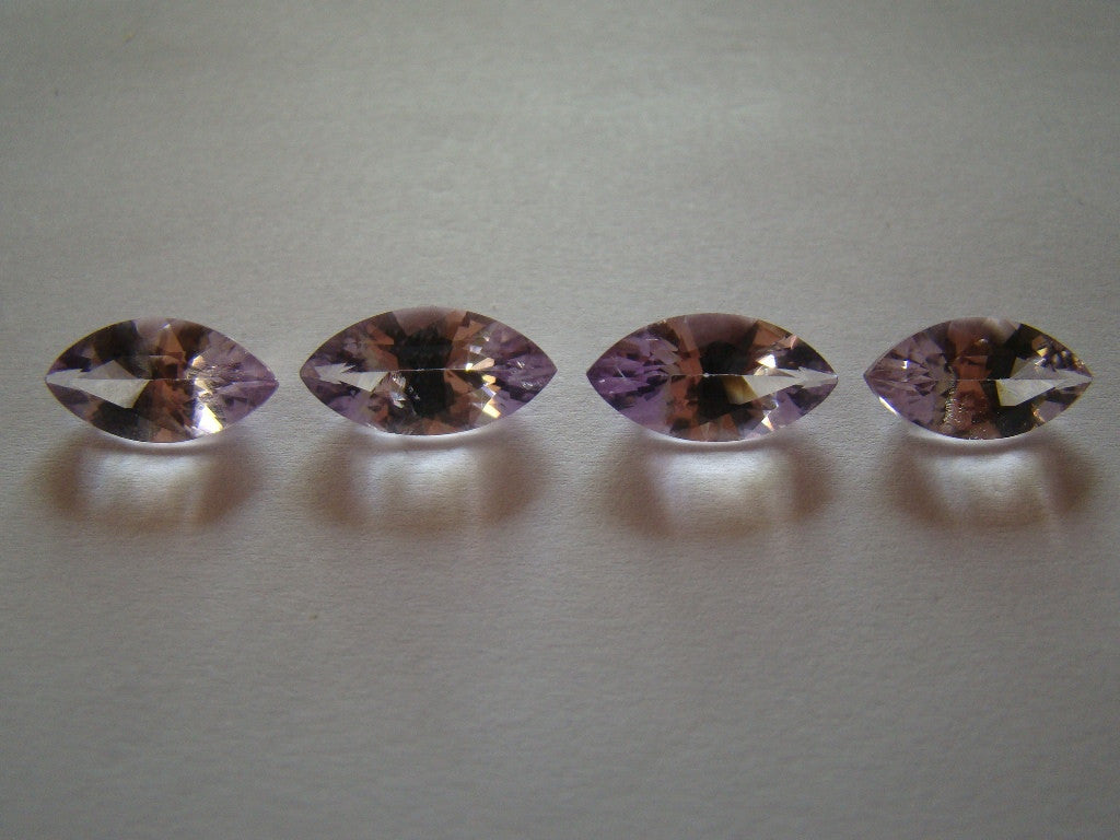 14.30ct Amethyst (Rose de France) Inclusion