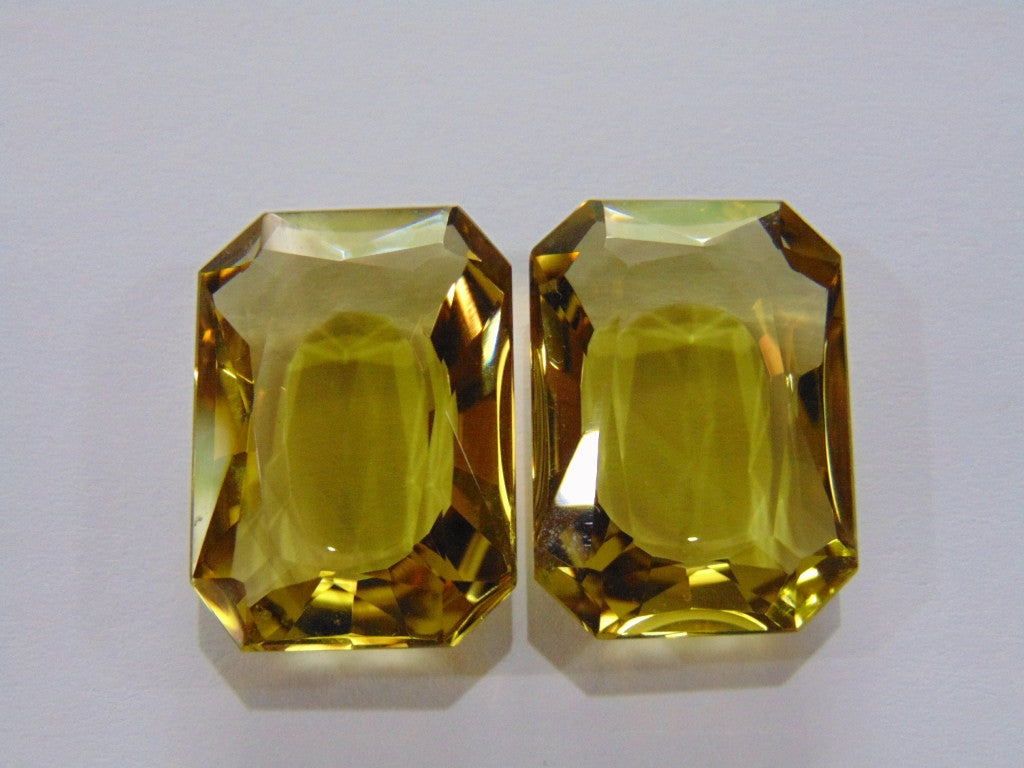 60ct Citrine (Pair)