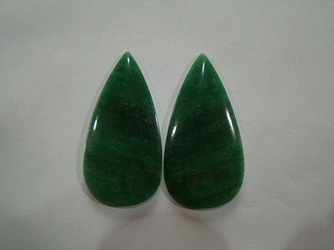 110ct Amazonite (Pair)