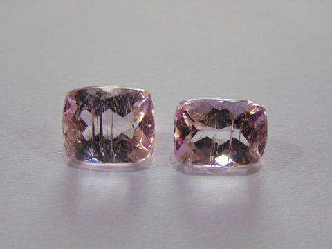 10.70ct Kunzite (With Rutile)