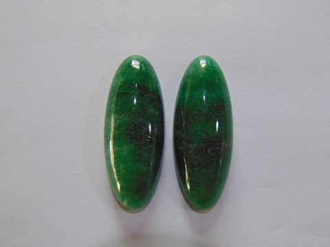 123ct Amazonite Pair