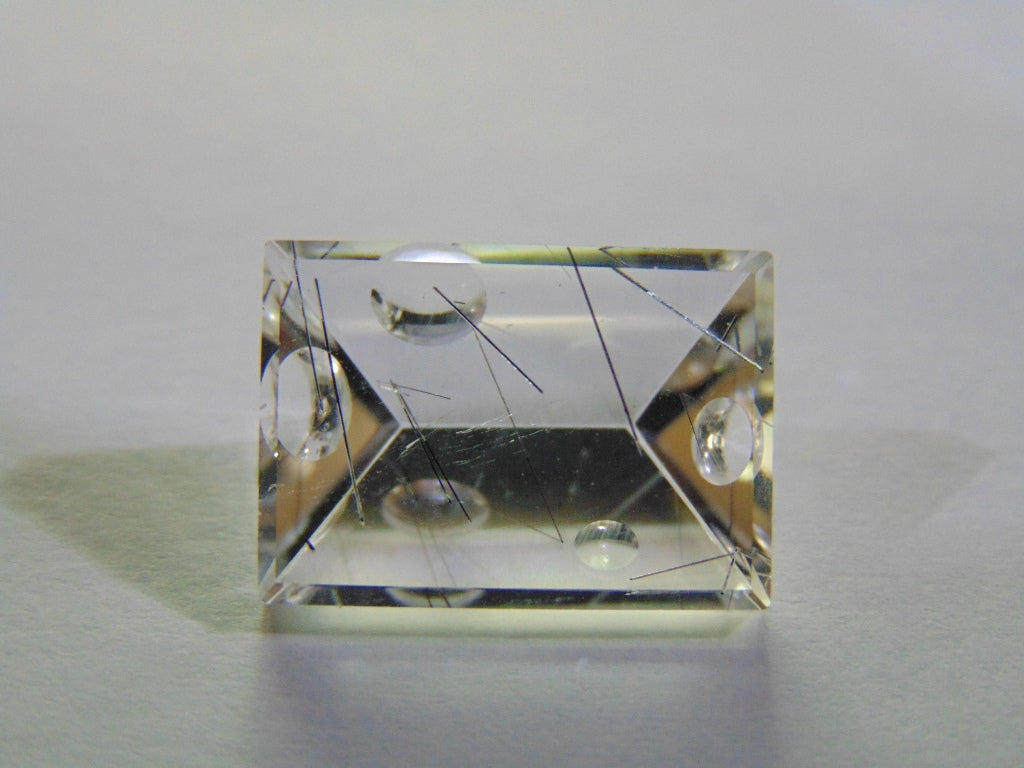 10.30ct Quartz Graphite (Bubble)